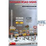 German Road Signs WW2 (Ardennes/ Germany 1945)