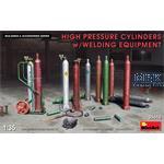 High Pressure Cylinders w/Welding Equipment