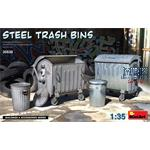 Steel Trash Bins