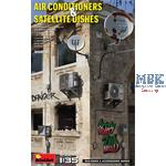 Air Conditioners & Satellite Dishes