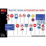 Traffic Signs. Afghanistan 2000's
