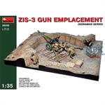 ZIS-3 GUN Emplacement