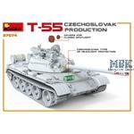 T-55 CZECHOSLOVAK PRODUCTION