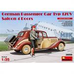 German Passenger Car Type 170V Saloon 4 doors