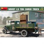Soviet 1,5 ton cargo truck