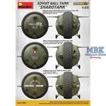 """Soviet Ball Tank """"Sharotank"""" Interior Kit"""