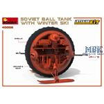 Soviet Ball Tank with Winter Ski. w/Interior Kit