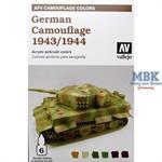 AFV Model Air Set German Camouflage 1943/44