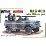 UAZ 469 + 106 mm gun