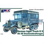 German Light Truck G 3 Kfz 62 Druckereikraftwagen