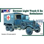 German Light Truck G3a Ambulance