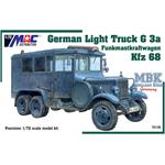 German Light Truck G3a Funkmastkraftwagen