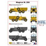 German Light Truck Magirus M 206