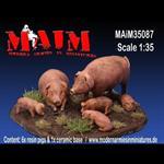 Animal Set - Pigs / Schweine