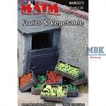 Früchte und Gemüse in Kisten / Fruits + Vegetables
