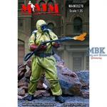 Survivor in Radiation Suit + Flamethrower