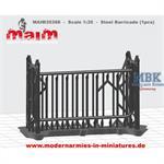 Steel Barricade - Absperrung