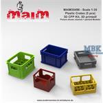 Plastic Crates - Bierkisten, Boxen (5pcs)