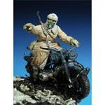 German motorcyclist, WW2 Eastern Front