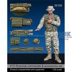 KTO Rosomak commander & accessory set