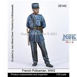 French Policeman, WW2
