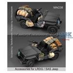 Accessories for LRDG/SAS Jeep