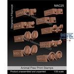 Animal Paw Print Stamps