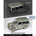 MB Wolf Canvas Roof