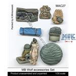 MB Wolf accessories Set