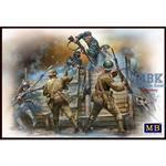Hand to hand fight German & British Infantrymen