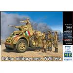 Italian Military Men WWII era