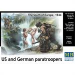 US and German Paratroopers + Girls South Europe 44