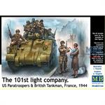 The 101st light Company US Paras/Tanker France