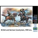British and German Cavalrymen, WWI era