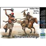 Indian Wars Series No 2 Tomahawk Charge 1/35