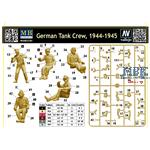 German Tank Crew 1944-45  5 Fig.