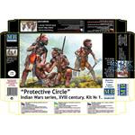 Protective Circle Indian Wars Series XVIII Century
