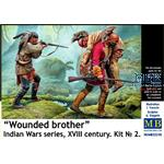 Woiunded Brother  Indian Series XVIII Century