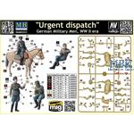 Urgent dispatch - German Military men WWII Era