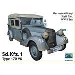 Kfz.1 Type 170VK, German Military Staff car