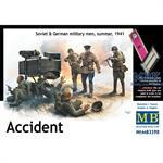 Accident. Soviet & German Infantry, summer 1941