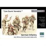 German Infantry, DAK, WWII, North Africa Battle