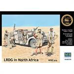 LRDG in North Africa, WW2