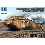"Mark IV ""Male"" British Tank"