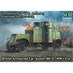 British Armoured Car, Austin MK III , WWI
