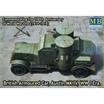British Armoured Car, Austin MK IV , WWI