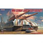 WW2 German Landcruiser P1000 Ratte