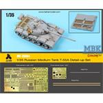 T-55A Russian Tank, early (Takom) Detail up Set