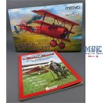 Fokker Dr.I Triplane - Roter Baron + Buch