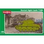 Soviet light tank T-80